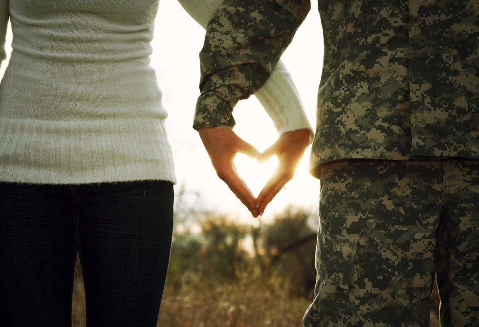 Картинки для девушки солдата